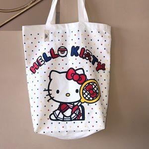 World Market Hello Kitty Tennis Tote Bag